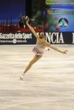 конькобежец 2011 kostner льда чемпиона Каролины итальянский Стоковое фото RF