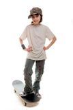 конькобежец 5 девушок Стоковое Изображение RF