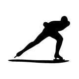 Конькобежец Стоковое фото RF