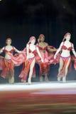 Конькобежцы Aladdin в красном цвете Стоковые Фото