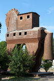 Конь расположенный в Трое Стоковое Изображение