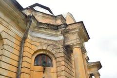 Конюшни дворца в Gatchina Стоковые Изображения