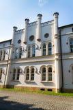 Конюшни замка барочного замка Lany, резиденции лета чехословакского президента Стоковая Фотография