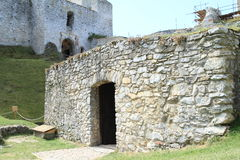 Конюшни на замке Rabi Стоковые Изображения