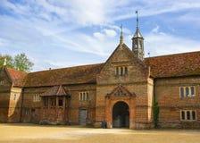 Конюшня в доме конца Audley в Essex Стоковые Фото