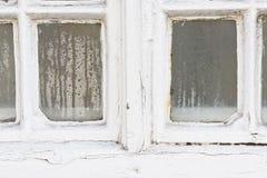 Конденсация окна стоковая фотография rf