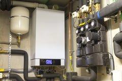 Конденсируя боилер газа стоковое фото rf