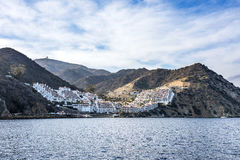 Кондо бухты Гамильтона на острове Каталины Стоковые Изображения RF
