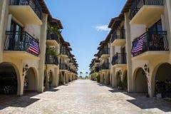Кондо портового района Key West Стоковое Изображение