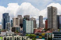 Кондо Сиэтл и башни офиса Стоковые Изображения