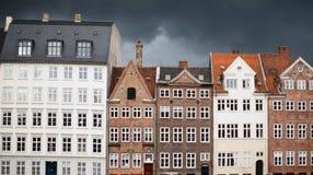 Копенгаген в солнце Стоковое Фото