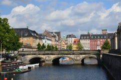 Копенгаген (Дания) в июне 2012 стоковая фотография