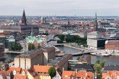 Копенгаген, Дания Стоковое Изображение RF