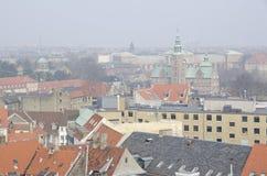 Копенгаген на туманнейший день Стоковое Изображение RF
