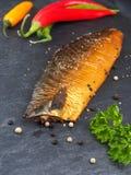 Копченая скумбрия с corns перца Стоковое Изображение