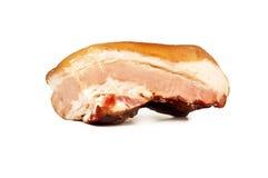 Копченое изолированное мясо Стоковое фото RF