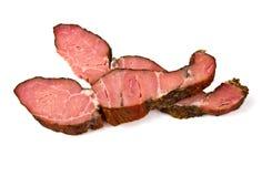 Копченое мясо стоковое изображение