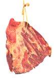 Копченые нервюры свинины с мясом Стоковое Фото