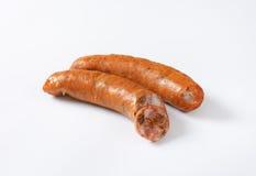 Копченые сосиски свинины Стоковые Фото