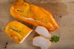 Копченые филе цыпленка Стоковая Фотография
