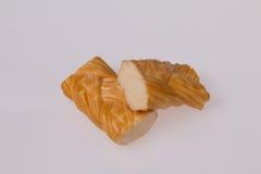 Копченый заплетенный сыр Стоковая Фотография RF