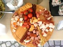 Копченый диск мяса Стоковая Фотография RF