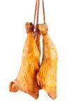 3 копченых бедренной кости цыпленка Стоковое Изображение