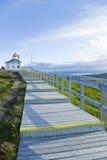 копье newfoundland маяка плащи-накидк Стоковое Изображение RF