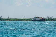 """Кораблекрушение """"Майя Princesa """"к северу от Cozumel, Мексики стоковое изображение"""