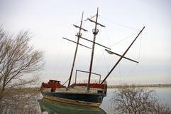 кораблекрушение стоковое изображение