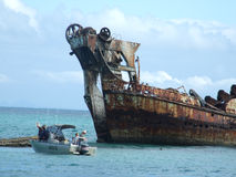 кораблекрушение Стоковое Изображение RF