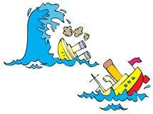 Кораблекрушение Стоковые Фотографии RF