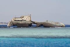 кораблекрушение Стоковые Изображения RF