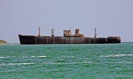 кораблекрушение costinesti Стоковые Изображения