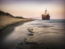 Кораблекрушение Dimitrios Стоковая Фотография