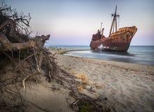 Кораблекрушение Dimitrios Стоковые Фотографии RF
