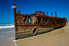 кораблекрушение maheno Стоковые Фото