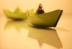 корабли бумаги стоковые изображения