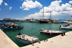 Корабли в порте Стоковое Изображение RF