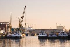 корабли гавани Стоковое Фото