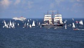 корабли гонок высокорослые Стоковая Фотография RF