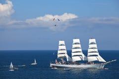 корабли гонок высокорослые Стоковая Фотография