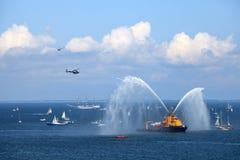корабли гонок высокорослые Стоковое Изображение RF