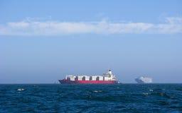 корабли контейнера Стоковые Фото
