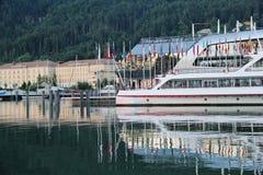 Корабли на гавани Bregenz стоковые фото