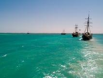 корабли пирата Стоковые Фотографии RF