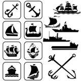 корабли Бесплатная Иллюстрация