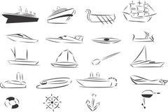 корабли Стоковые Изображения