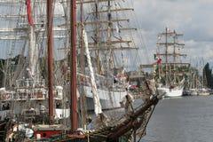 корабли sailing Стоковые Фото