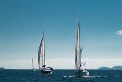 корабли sailing стоковые изображения